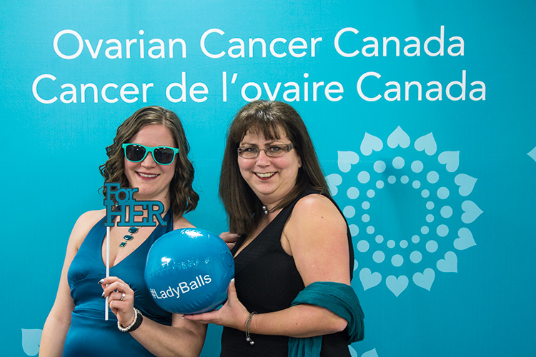 Ovarian Cancer Canada LadyBalls